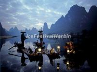 Li River Night Scene