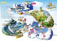 Harbin Polarland Map