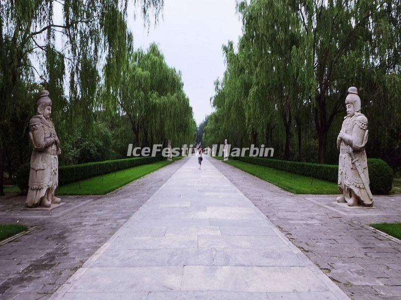 Ming Tomb Sacred Way Stone Carving-Warriors