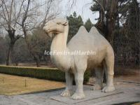 Ming Tombs Sacred Way Stone Carving-Camel