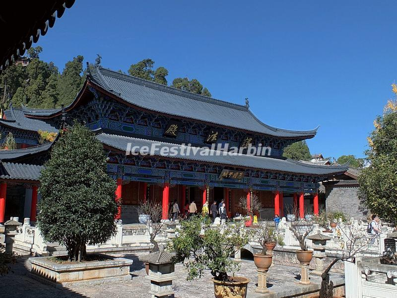 The Constitutional Protection Hall in Lijiang Mu's Residence