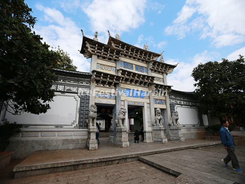 The Archway to Mu's Residence in Lijiang