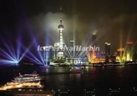A Night View of Shanghai Oriental Pearl TV Tower