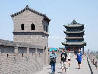 The Ancient City Wall in Pingyao