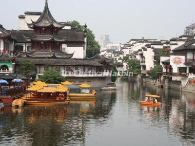 Qinhuai River in Nanjing