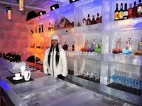 The Ice Bar in Shangri-la Hotel Harbin