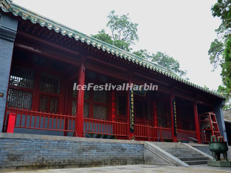 The Abbot's Chamber at Shaolin Temple