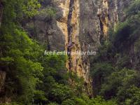 The Hanging Coffins in Cliffs along Shennong Stream