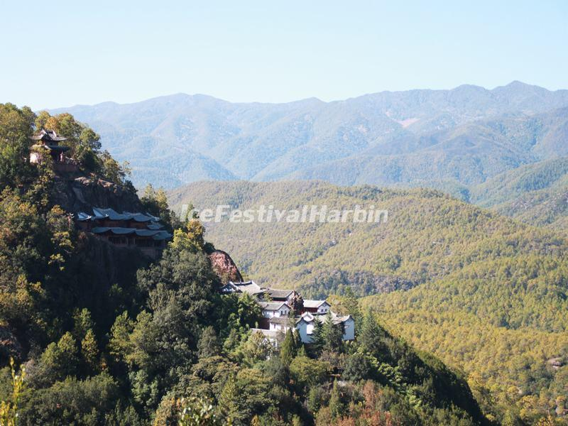 Shibaoshan Mountain Scenery