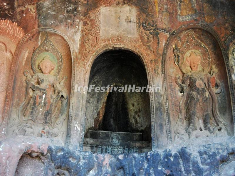 Shibaoshan Mountain Grottoes-The Female Private Parts