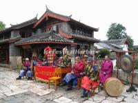A Naxi Ancient Music Band in Shuhe Ancient Town