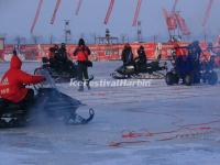 Snowmobiling in Harbin Ice and Snow Happy Valley