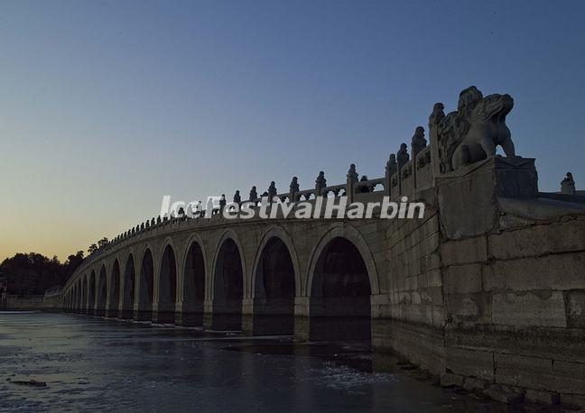 A Bridge in Summer Palace