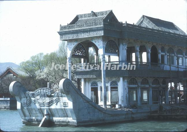The Stone Boat in Summer Palace
