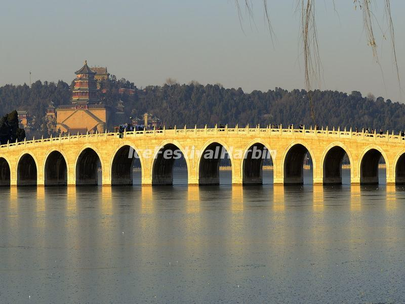 Seventeen-Arch Bridge in the Summer Palace