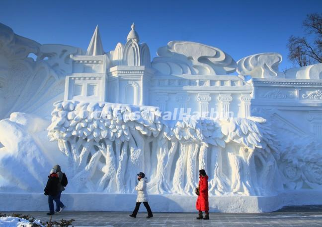 harbin china snow sculptures