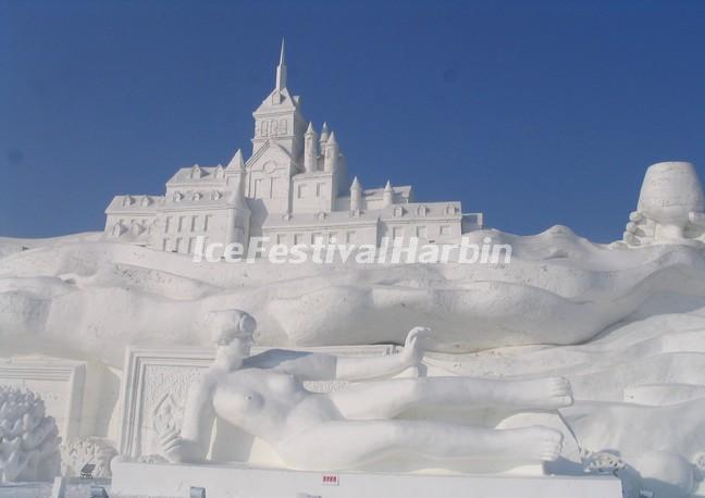 Snow Sculpture Art Expo in Harbin China