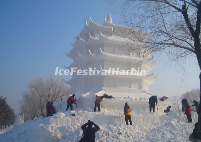 Harbin Sun Island International Snow Sculpture Art Expo