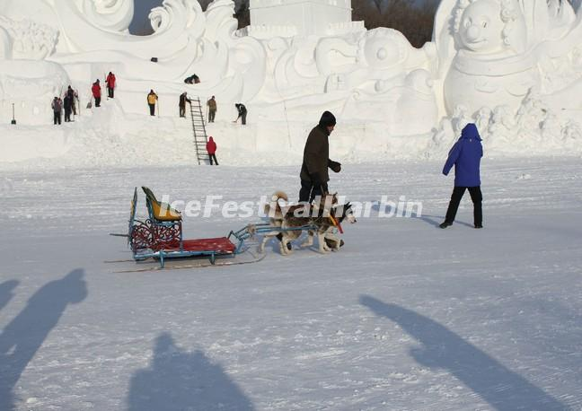 Harbin Sun Island in Ice Festival