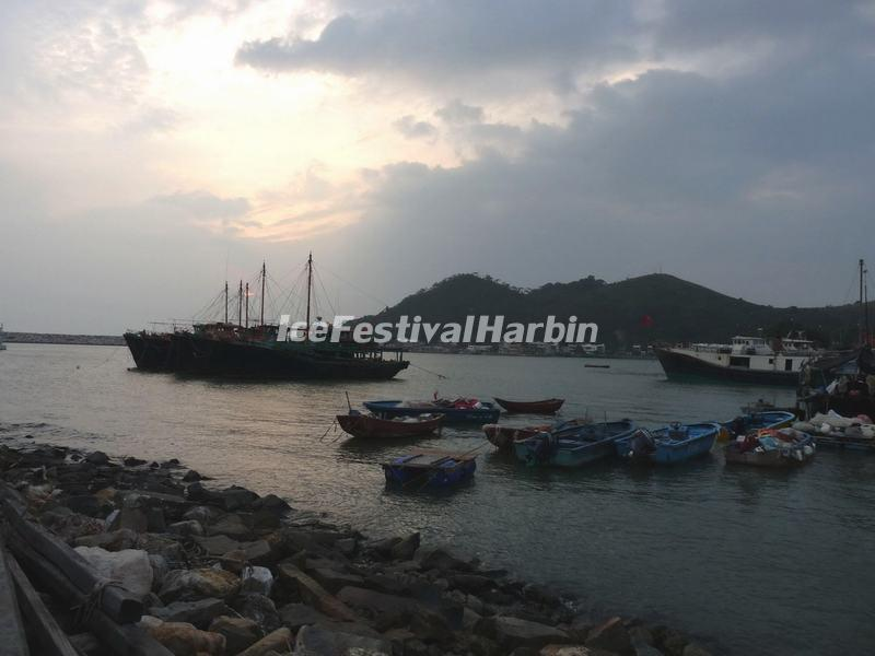 Scenery of the Tai O Fishing Village