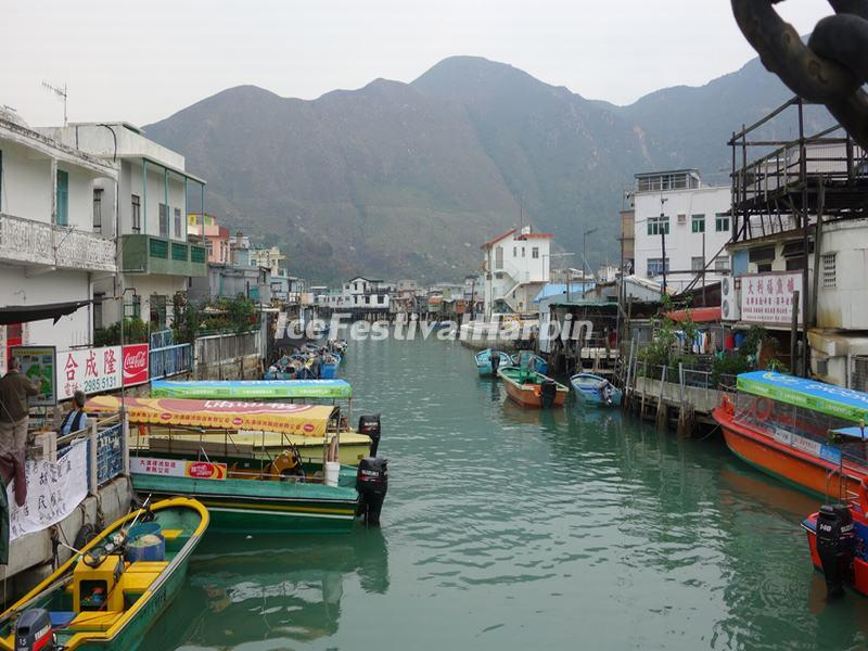 Tai O Fishing Village Scenery