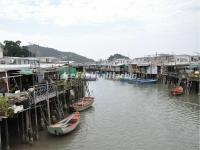 Stilt Houses in Tai O Fishing Village