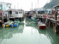 Boats at the Tai O Fishing Village