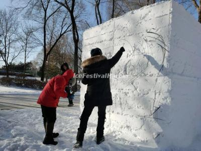 The 21st Heilongjiang Provincial Snow Sculpture Competition