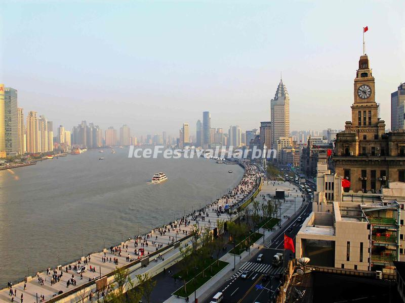 The Bund Scenery, Shanghai