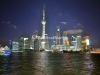 Night Scene in the Bund, Shanghai