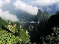 Tianmen Mountain in Summer