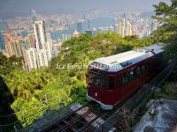 The Tram in Victoria Peak