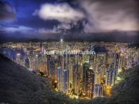 Victoria Peak at Night