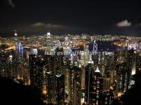Victoria Peak Nights Scene