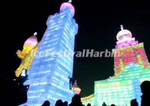Ice Sculptures in Harbin China
