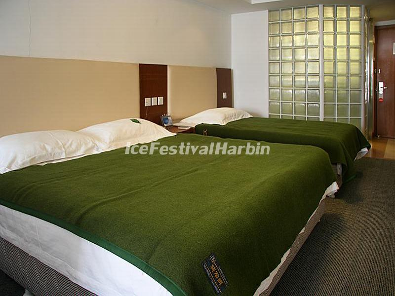 Harbin Wanda Holiday Express Hotel Business Twin Room