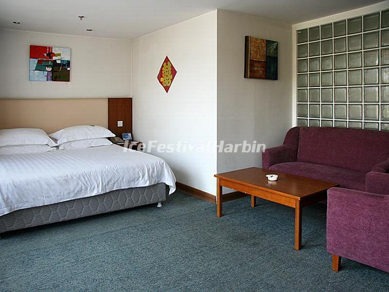 Harbin Wanda Holiday Express Hotel Business King Size Bed Room