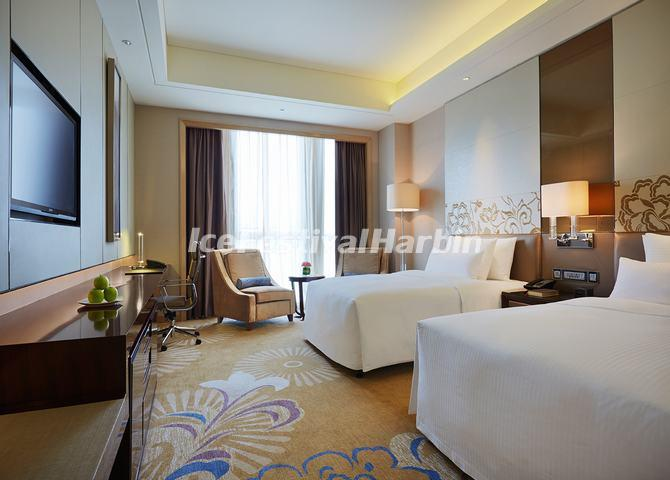 The Deluxe Suite of Wanda Realm Harbin