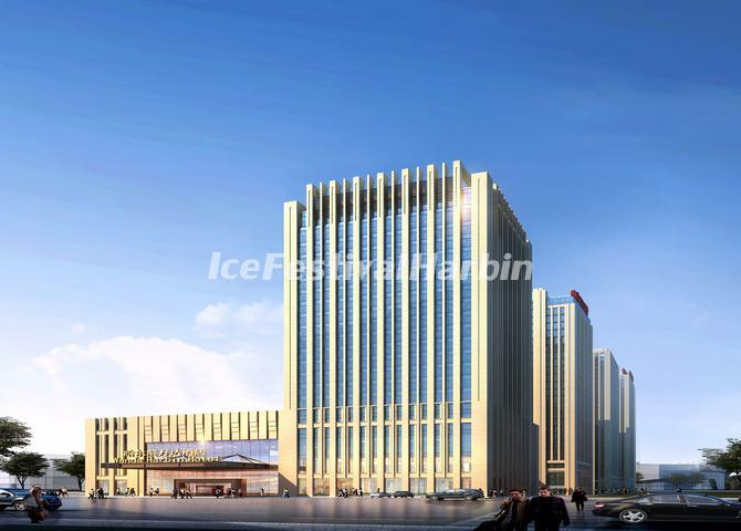 The Building of Wanda Realm Harbin