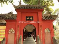 The Tablets Corridor at Wenshu Temple