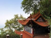 The Lingxiao Pavilion in Western Hills Forest Reserve