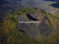 A Crater in Wudalianchi World Geopark, China