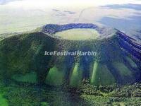 An Extinct Volcano in Wudalianchi World Geopark