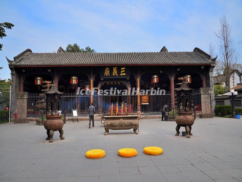 The Sanyi Temple in Wuhou Memorial Temple