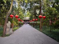 Red Lanterns at Wuhou Memorial Temple