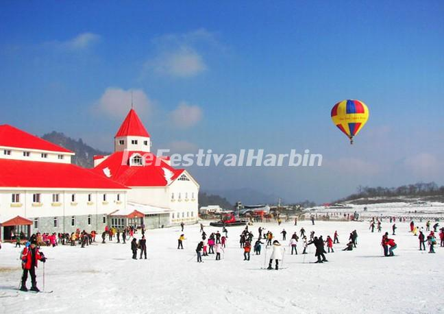 Xiling Snow Mountain Ballooning