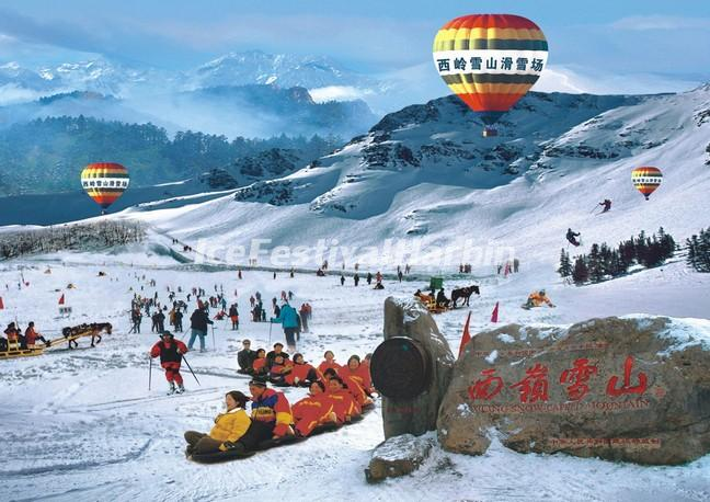 Xiling Snow Mountain Hot Air Ballooning