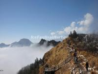 The Sea of Clouds in Xiling Snow Mountain