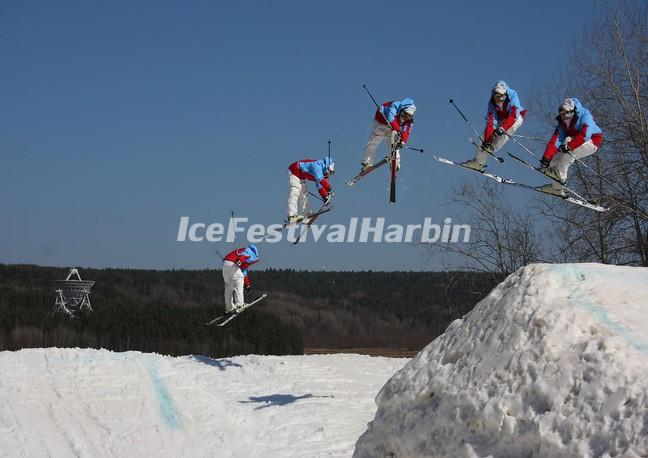 Ski in Xiling Snow Mountain
