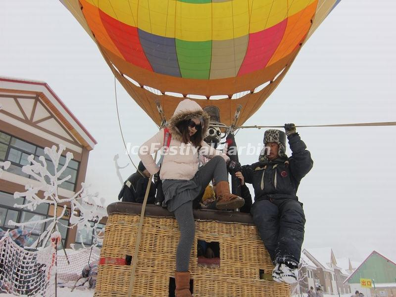 Xiling Snow Mountain Hot-air Ballooning